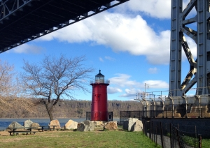 The Little Red Lighthouse under the GW Bridge